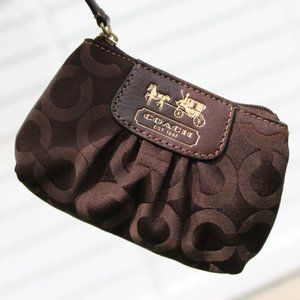 XS Brown Coach Pouch